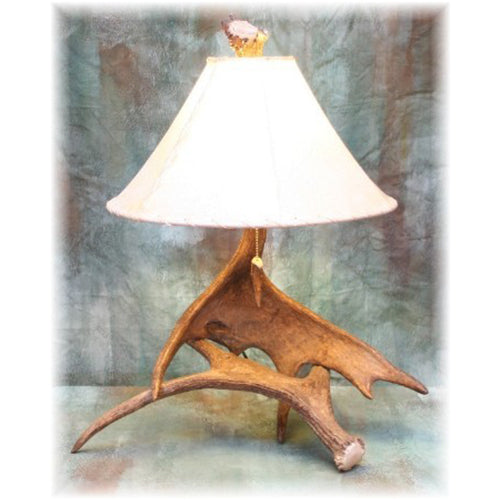 Medium Moose Antler Table Lamp