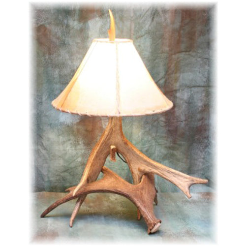 Small Moose Antler Lamp