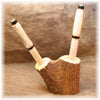 Elk Antler Pen Holder