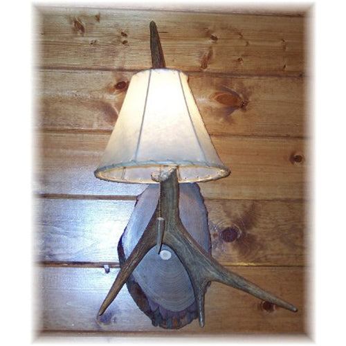 Medium Moose Antler Sconce