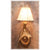 Small Moose Antler Sconce