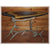 Elk Antler Sofa Table with Walnut Slab Top