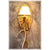 Medium Elk Antler Snowshoe Sconce