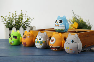 "Altavoz inalámbrico bluetooth AudioAir Mini Pets ""Verdecito"""
