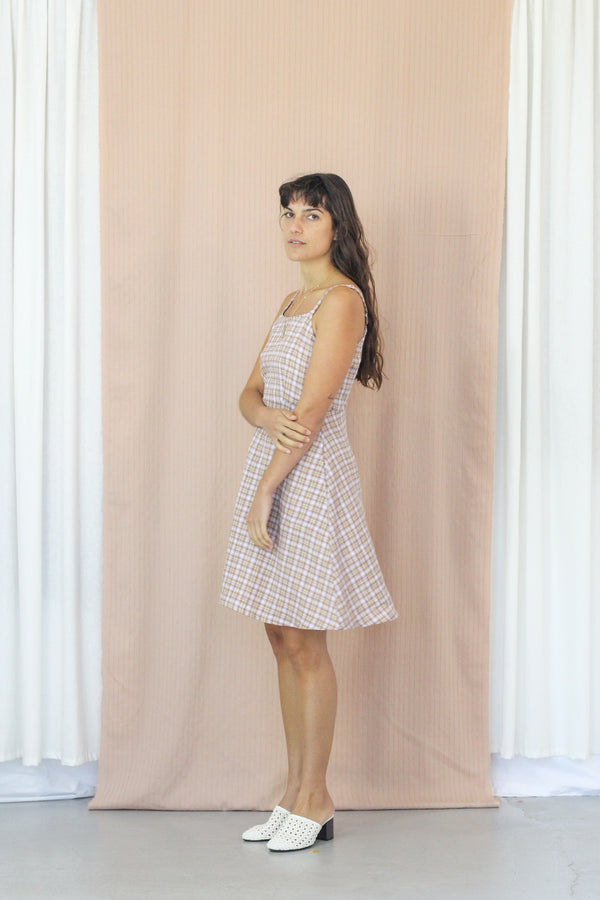 Juliette Dress- Thistle Gingham