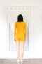 Rib Turtleneck- Marigold