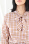 Fable Blouse- Thistle Gingham