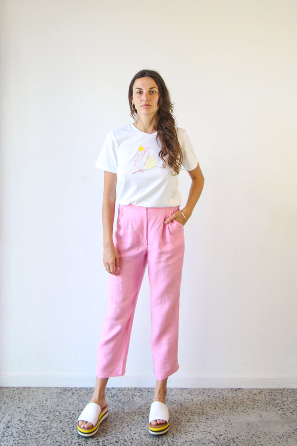 Studio Trousers - Pink