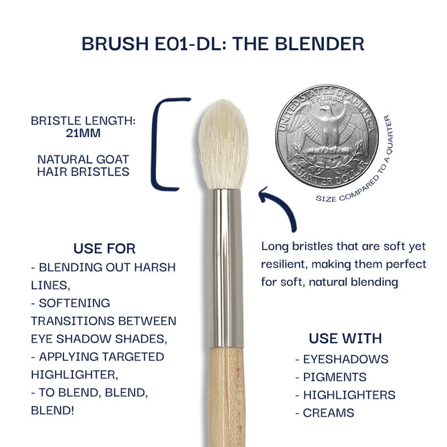 Details about the E01-DL brush. Information can be found in the description.