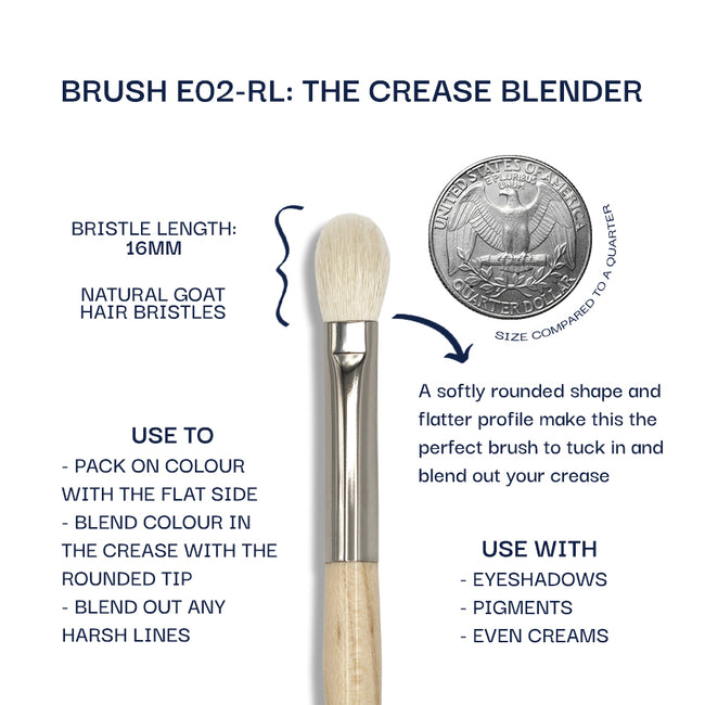 Details about the E02-RL brush. Information can be found in the description.