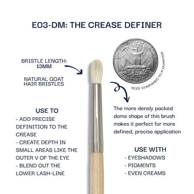 Details about the E03-DM brush. Information can be found in the description.