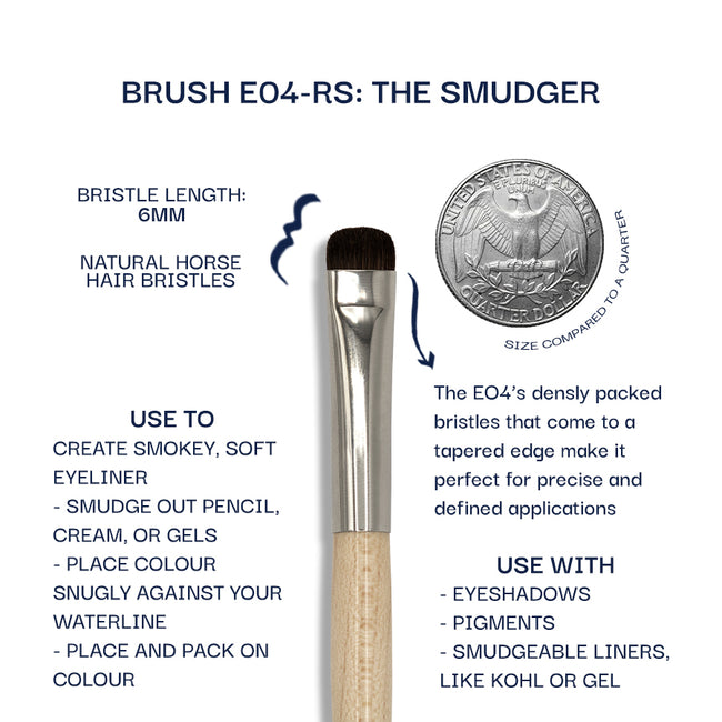 Details about the E04-RS brush. Information can be found in the description.