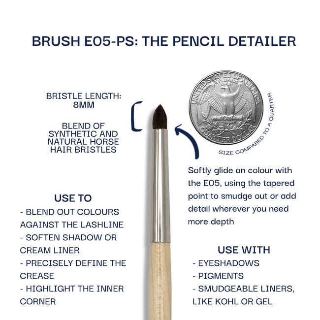 Details about the E05-PS brush. Information can be found in the description.