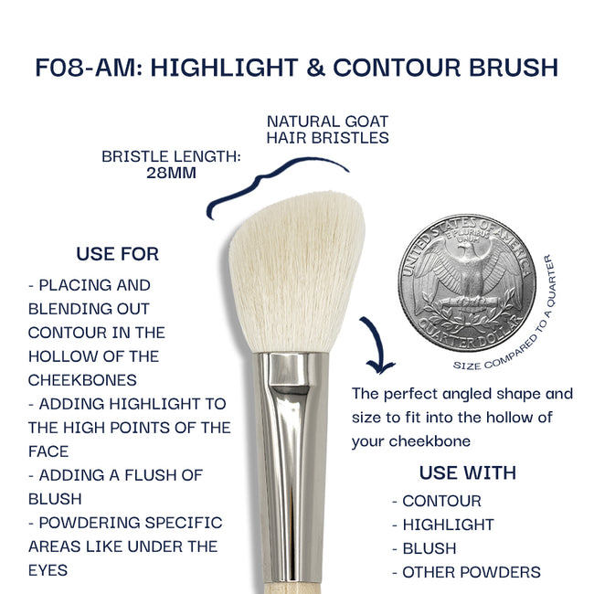 Details about the F08-AM brush. Information can be found in the description.