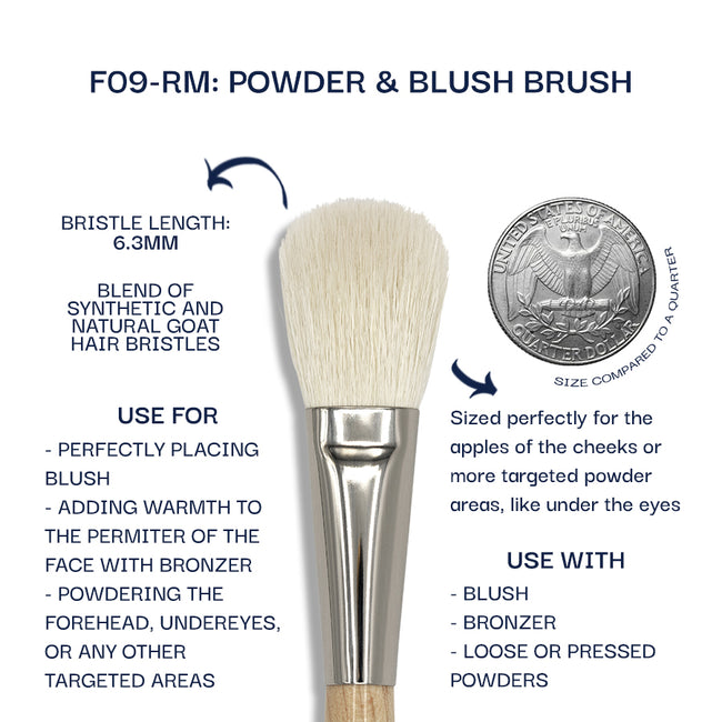 Details about the F09-RM brush. Information can be found in the description.