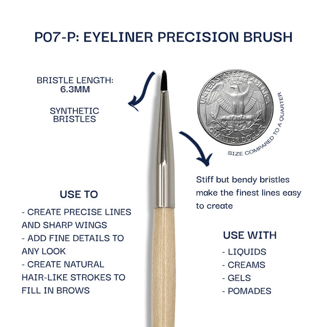 Details about the P07-P brush. Information can be found in the description.