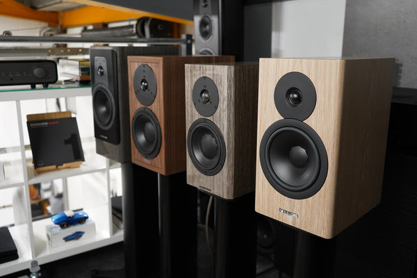 Dynaudio stand mount speakers