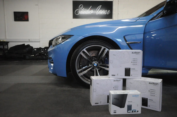 BMW M3 Showcase - Audison Prima Speaker Set
