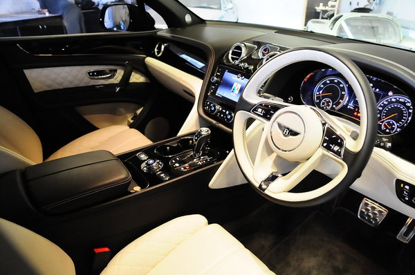 Bentley Bentayga Interior Dashboard