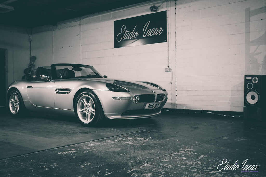 BMW Z8 Garage Shot 2