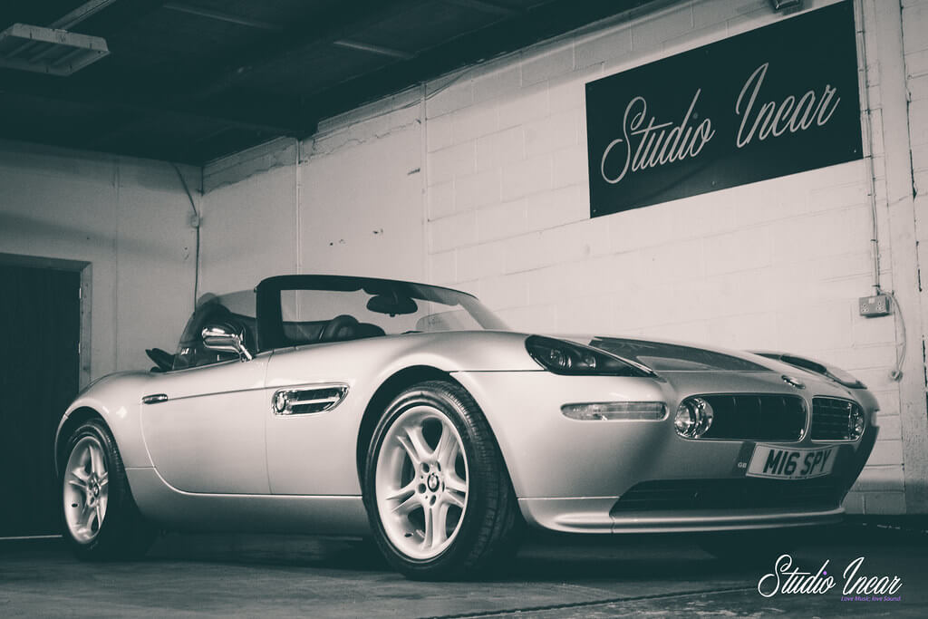BMW Z8 Garage Shot