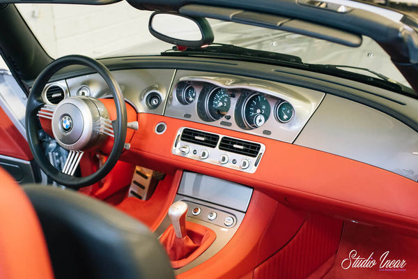 BMW Z8 Dashboard and Console