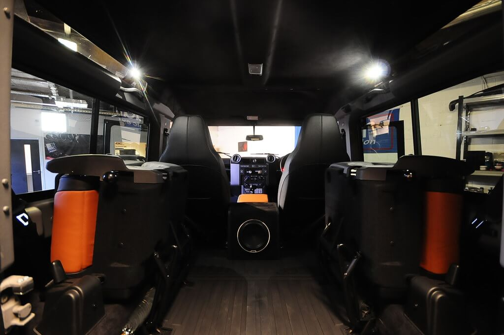 Defender Interior From Rear