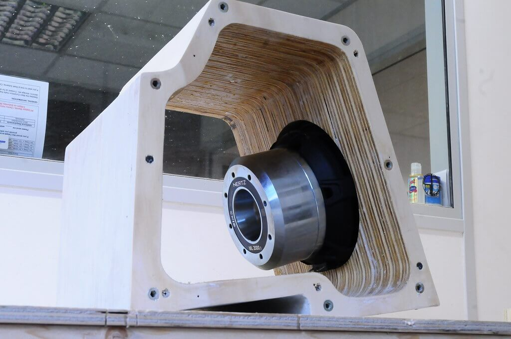 Sub Mounted in Enclosure