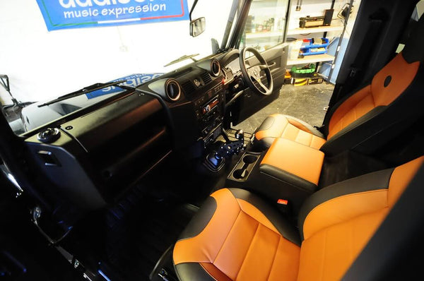 Defender Interior Shot
