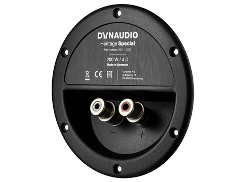 Dynaudio Heritage Special back plate