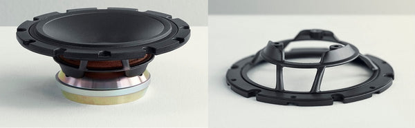 Dynaudio Midrange Speaker and Baffle