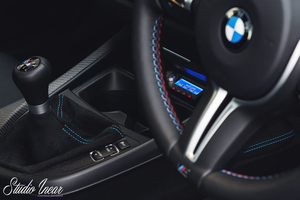 BMW Console Audison DRC MP