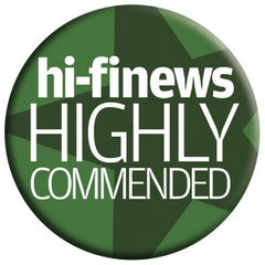 Hi-Fi News Highly Commended Rating Logo