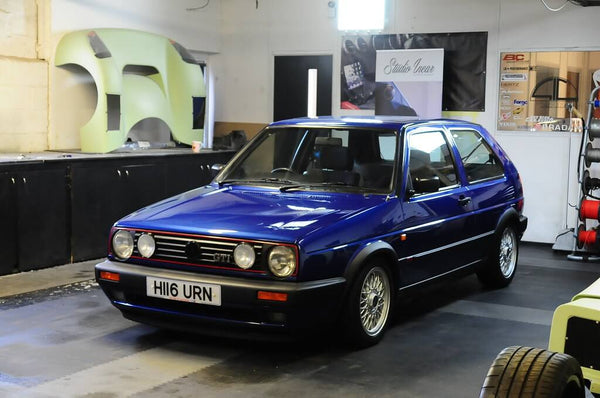 VW Mk2 Golf - Garage Shot