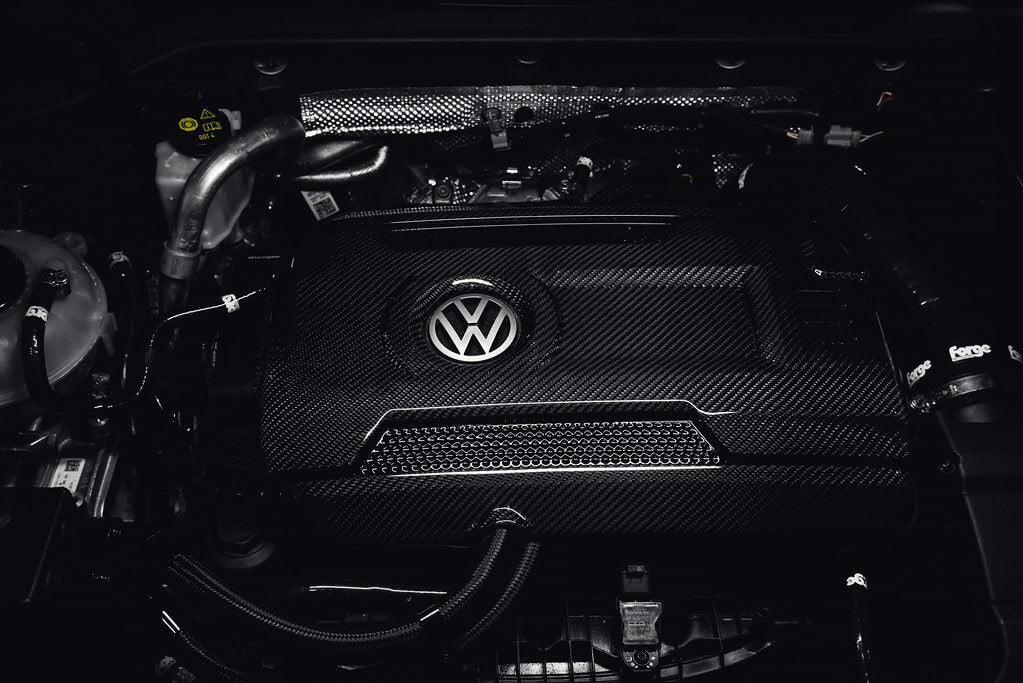 VW Carbon Engine Cover
