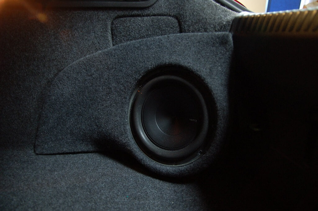 Hertz Sub in Custom Subwoofer Enclosure