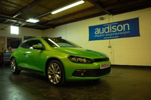 VW Scirocco Garage Shot