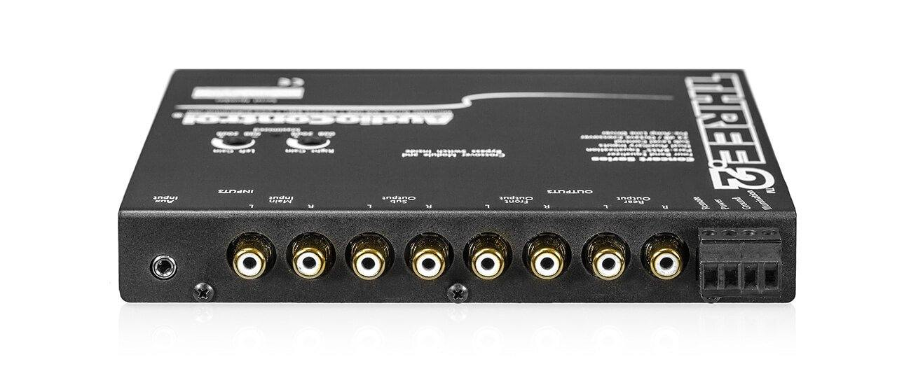AudioControl Three.2 - In-Dash Equalizer/ Crossover - 3