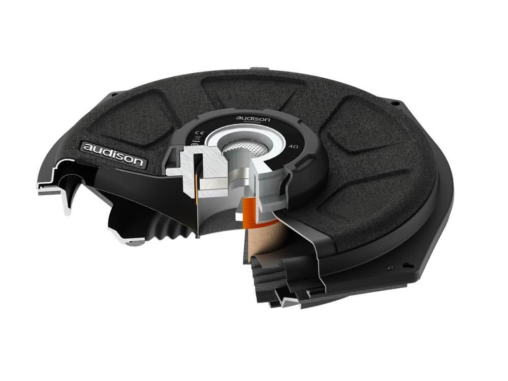Audison Prima APBMW S8-4 - Subwoofer for BMW - Cross-Section