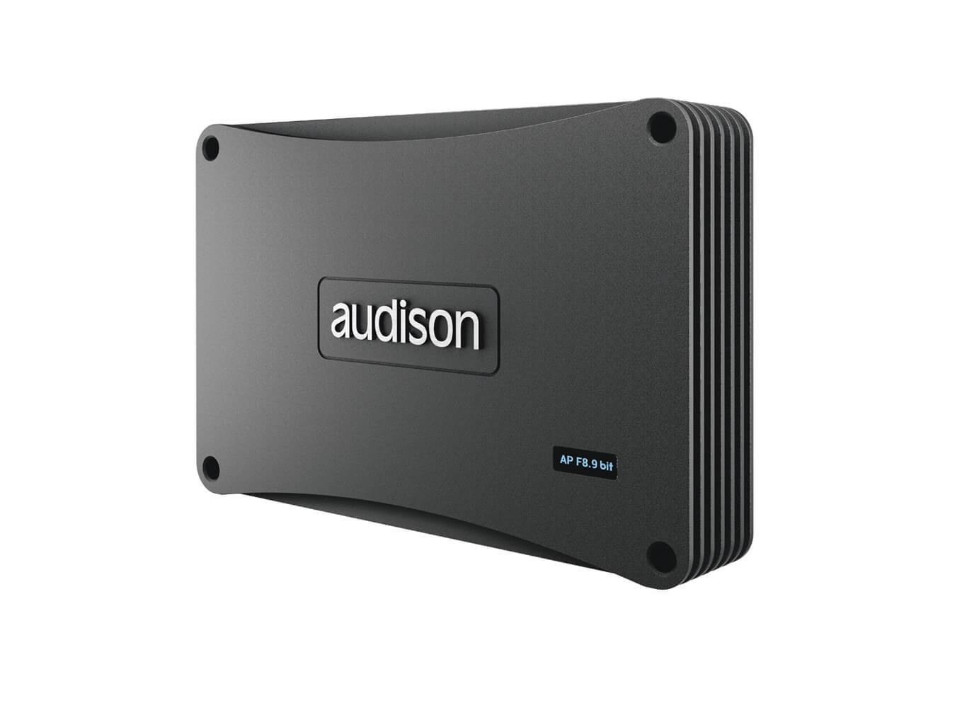 Audison Prima Forza AP F8.9 bit Amplifier with DSP - Side