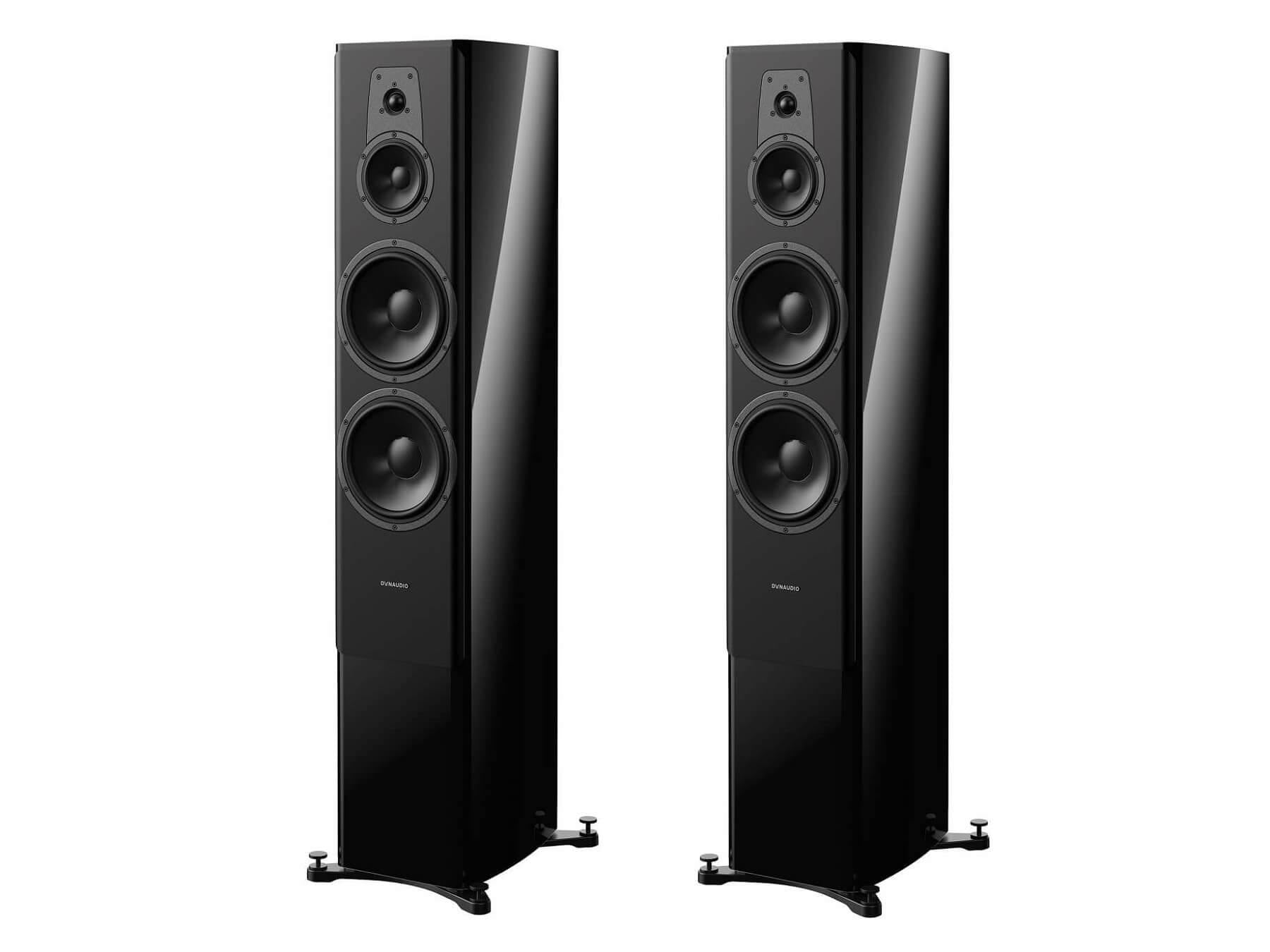 Dynaudio Contour 60i - Floorstanding Speakers - Black