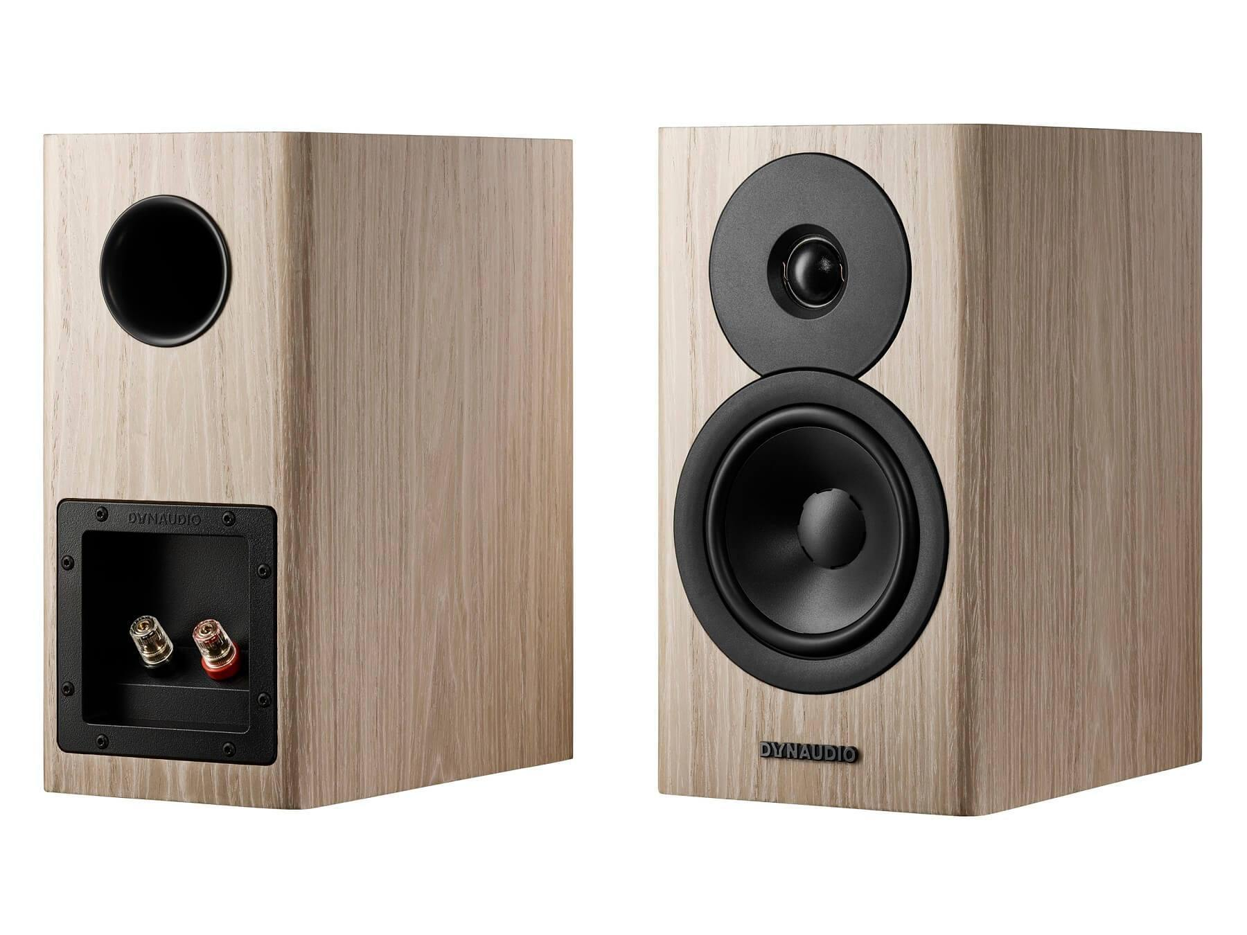 Dynaudio Evoke 10 - Blonde Front and Back