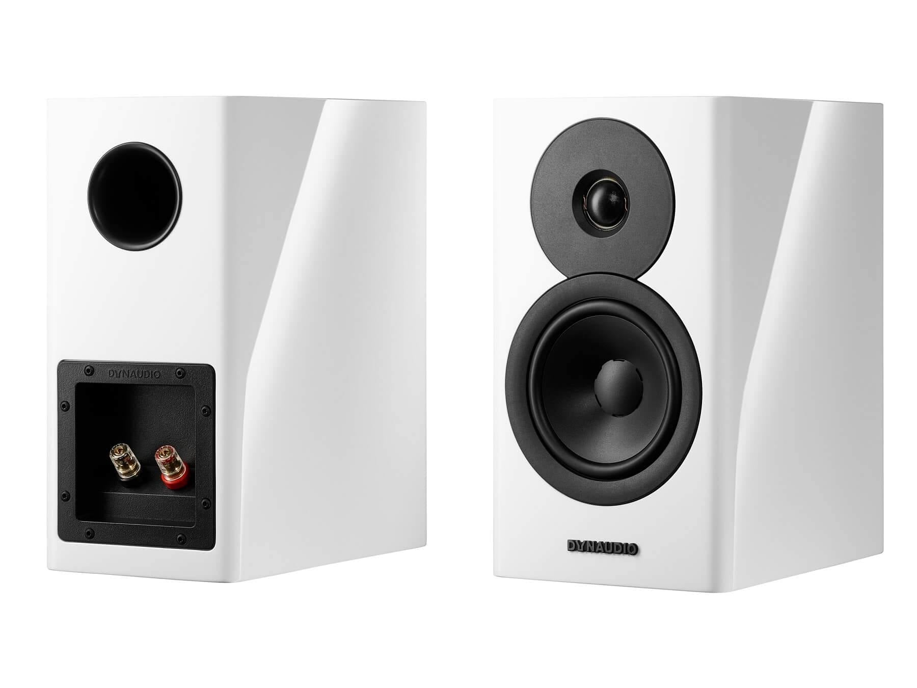 Dynaudio Evoke 10 - White Front and Back
