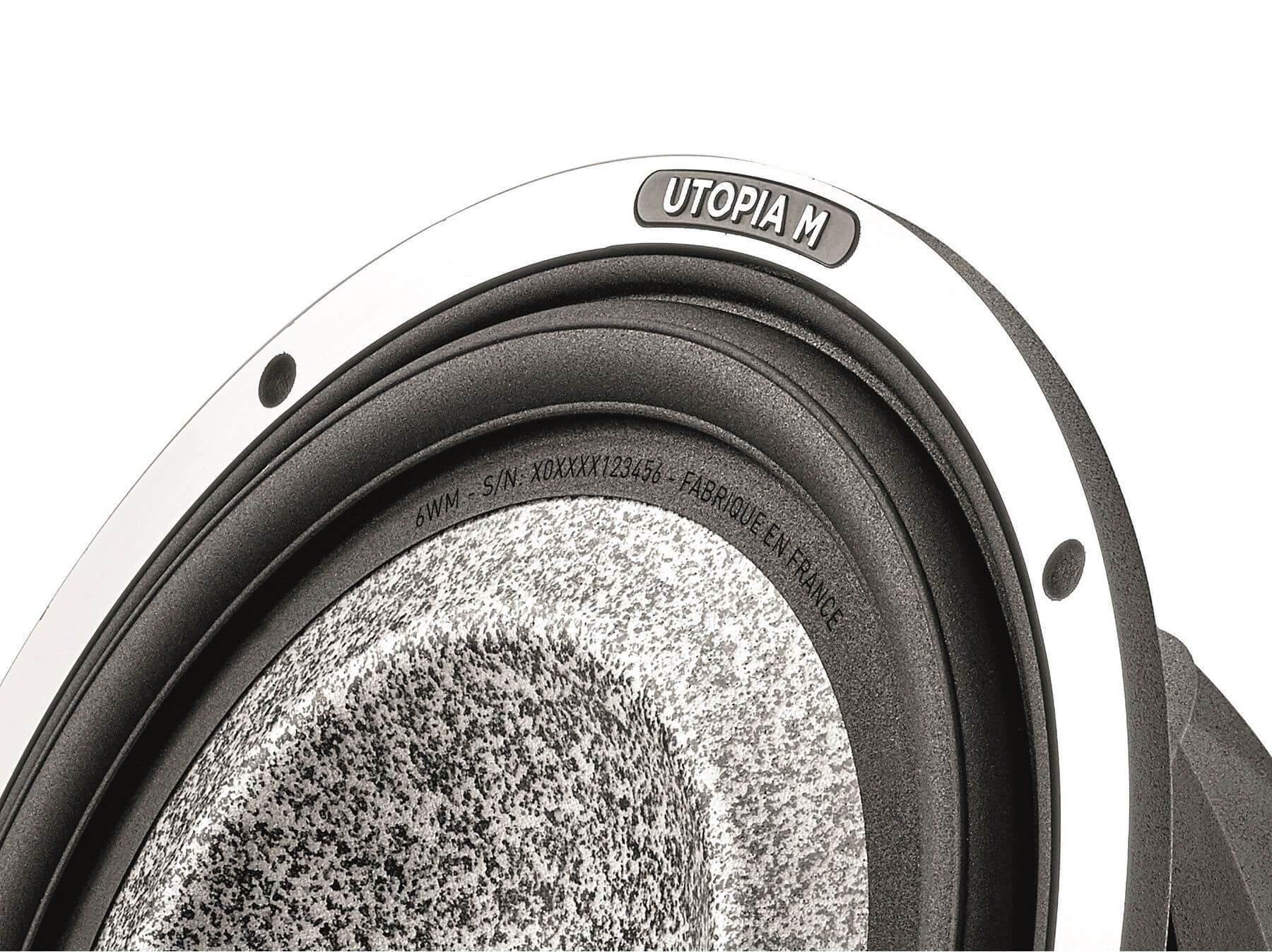 Focal Elite Utopia M - 6WM Woofer - Cone Detail