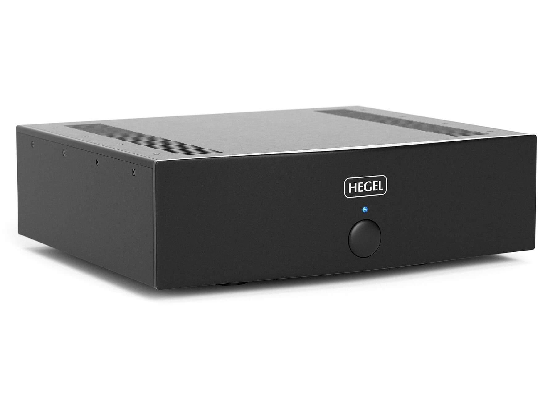 Hegel H20 - Dual Mono Power Amplifier - Front Angle