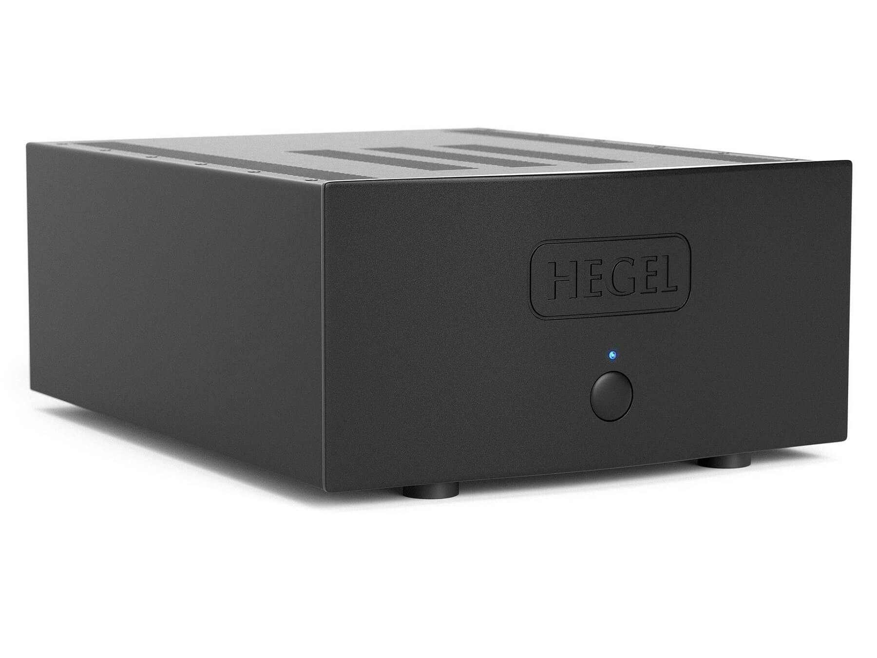 Hegel H30 - Dual Mono Power Amplifier  - Angled