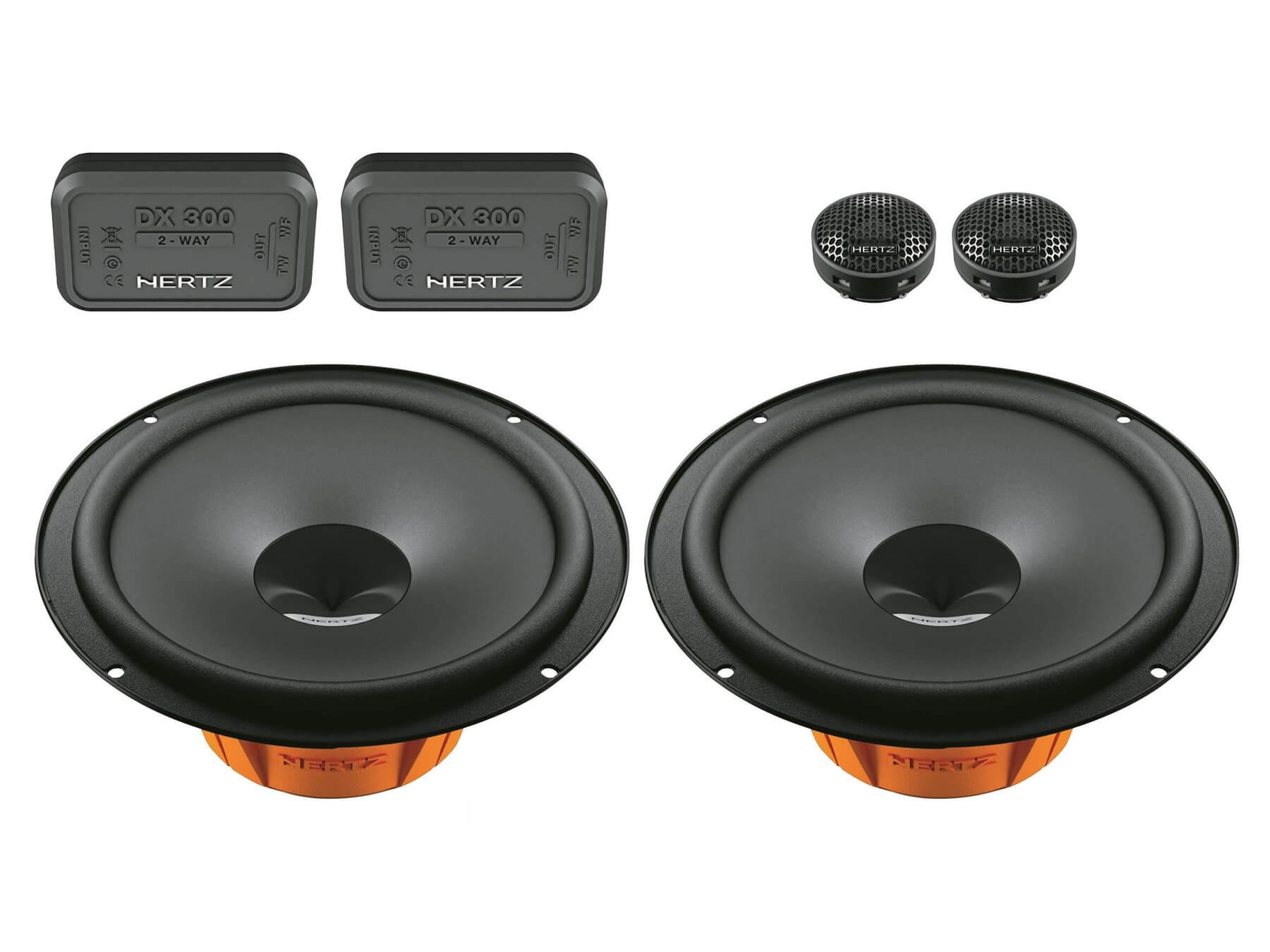 Hertz Dieci DSK 165.3 - Car Audio Speaker System - 2