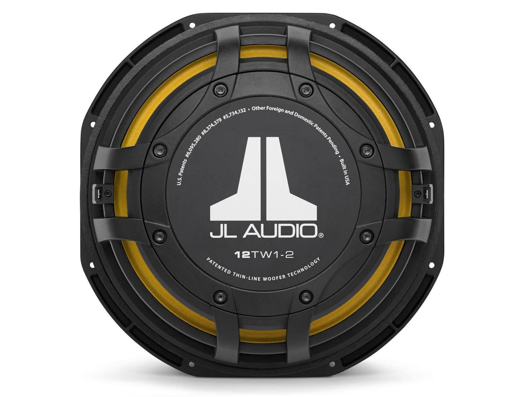 JL Audio 12TW1 - Thin-line 12 Inch Subwoofer - 5