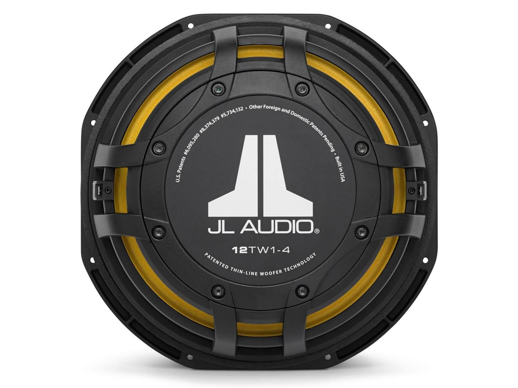 JL Audio 12TW1 - Thin-line 12 Inch Subwoofer - 6