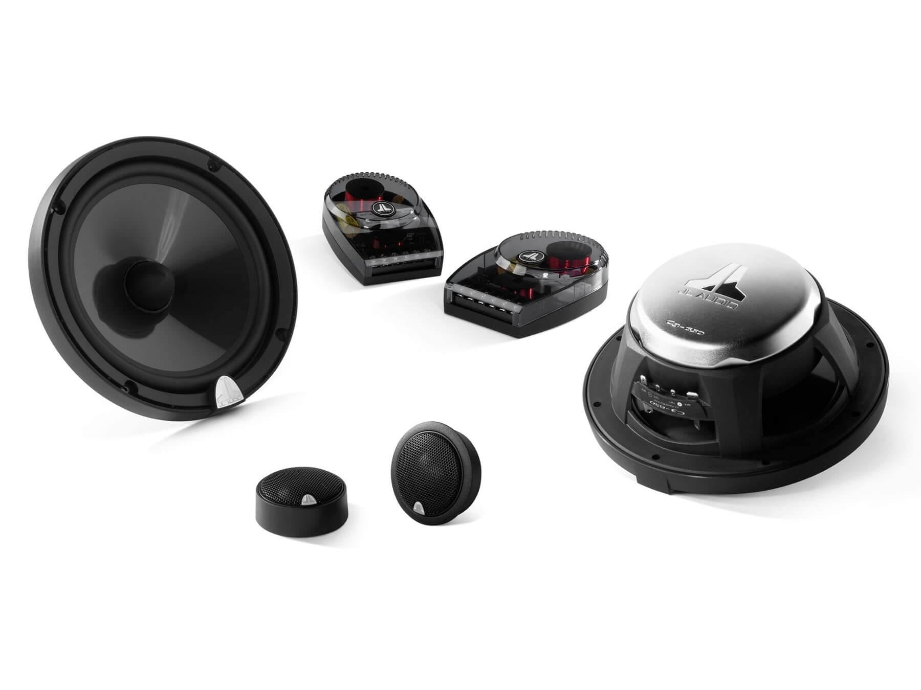 JL Audio C3-650 - 6.5 Inch Convertible Coaxial Speaker System